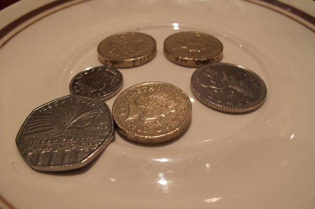 Tight-fisted: The poll of shame also named Sheffield and Newcastle among the worst cities for tipping