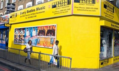 Western Union – along with MoneyGram – dominates the money transfer market in Britain. Photograph: Alamy